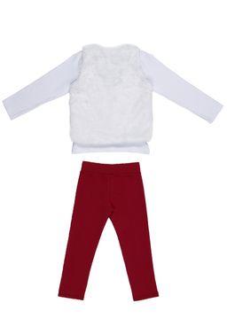 Conjunto-Infantil-para-Menina---Branco