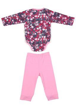 Conjunto-Infantil-para-Bebe-Menina---Floral-Rosa