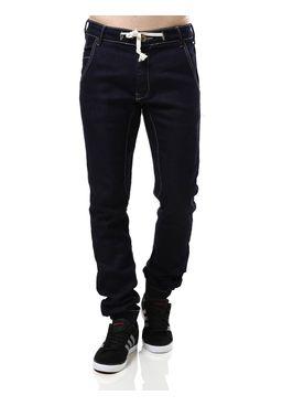 Calca-Jeans-Masculina-Jogger-Azul