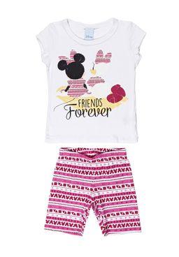 Conjunto-Infantil-Para-Menina-Disney---Branco