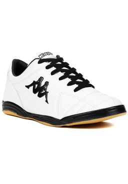 Tenis-Futsal-Masculino-Kappa-Branco-preto