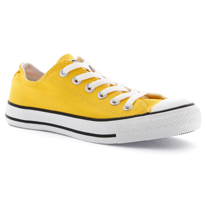 Tênis Casual Converse Basket Low Amarelo 34