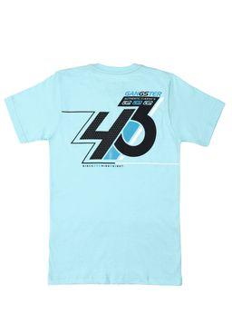 Camiseta-Manga-Curta-Juvenil-Gangster-Para-Menino---Verde-claro