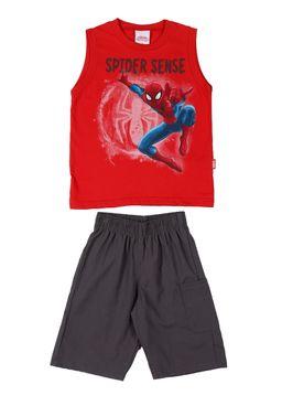 Conjunto-Infantil-Para-Menino-Spider-Man---Vermelho