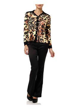 Camisa-Manga-Longa-Feminina-Onca-Preta-Amarela