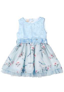 Vestido-Infantil-Para-Menina---Azul