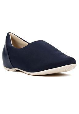 Sapato-Feminino-Comfortflex-Azul-marinho