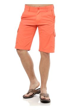 Bermuda-Jeans-Masculina-Gangster-Laranja