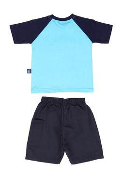 Conjunto-Infantil-Para-Bebe-Menino---Azul-marinho