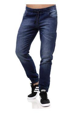 Calca-Jeans-Moletom-Masculina-Gangster-Azul