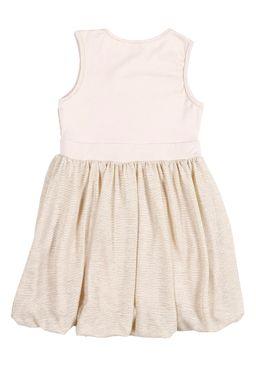 Vestido-Juvenil-Para-Menina---Dourado