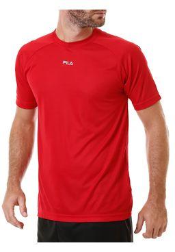Camiseta-Manga-Curta-Masculina-Fila-Basic-Dry-Bordo