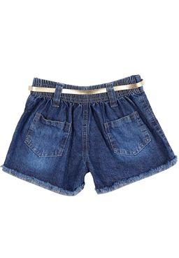 Short-Jeans-Infantil-Para-Menina---Azul