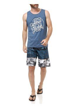 Camiseta-Regata-Masculina-Gangster-Azul