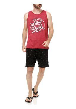 Camiseta-Regata-Masculina-Gangster-Vermelho