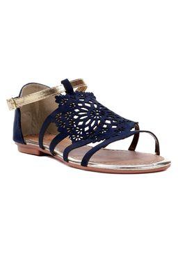 Sandalia-Rasteira-Feminina-Azul-dourado