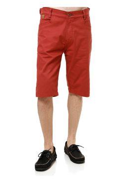 Bermuda-Jeans-Masculina-Gangster-Vermelho