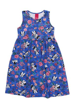 Vestido-Disney-Infantil-Para-Menina---Azul-