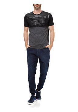 Camiseta-Manga-Curta-Masculina-Gangster-Preto-cinza