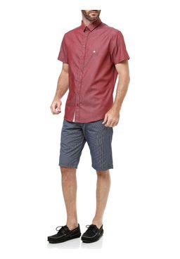 Camisa-Manga-Curta-Masculina-Bordo