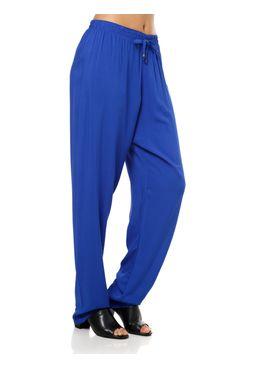 Calca-de-Tecido-Feminina-Azul
