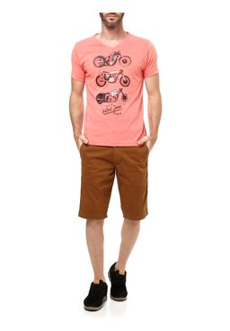 Camiseta-Manga-Curta-Masculina-Fatal-Laranja