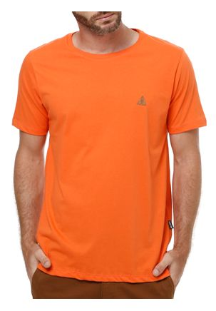 Camiseta-Manga-Curta-Masculina-No-Stress-Laranja