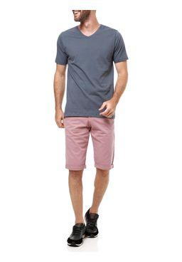 Camiseta-Manga-Curta-Masculina-Cinz