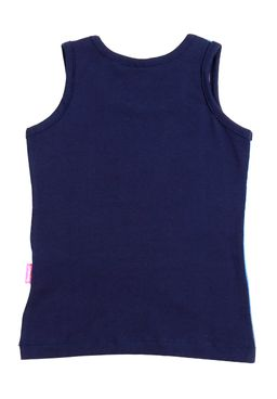 Blusa-Regata-Disney-Infantil-Para-Menina---Azul-marinho
