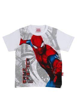Camiseta-Spiderman-Manga-Curta-Infantil-Para-Menino---Branco