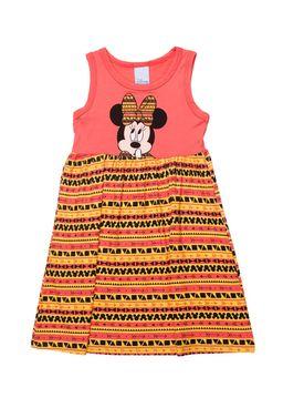 Vestido-Infantil-Disney-Para-Menina---Coral