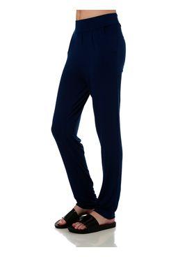 Calca-de-Tecido-Feminina-Azul-marinho