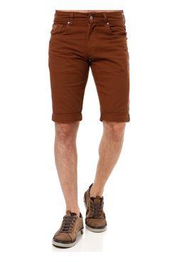 Bermuda-Jeans-Masculina-Bivik-Marrom