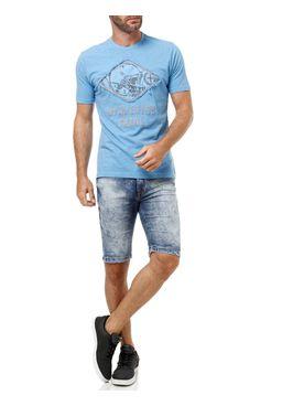 Camiseta-Manga-Curta-Masculina-Fatal-Azul