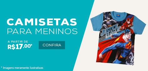 Camisetas para Menino