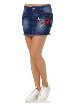 Saia-Jeans-Curta-Feminina-Azul