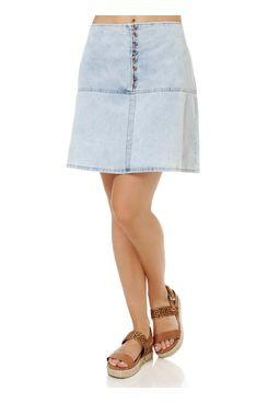 Saia-Curta-Jeans-Feminina-Azul-claro