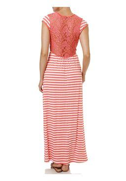 Vestido-Longo-Feminino-Coral
