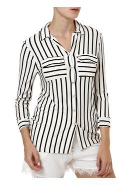 Camisa-Manga-3-4-Feminina-Off-white