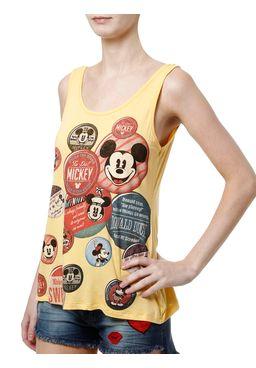 Blusa-Regata-Feminina-Disney-Amarelo