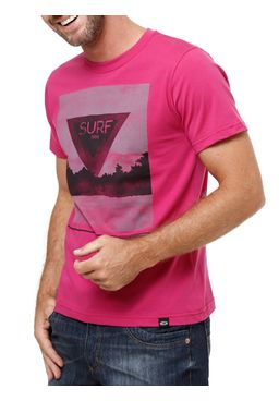 Camiseta-Manga-Curta-Masculina-Rosa-pink