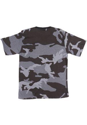Camiseta-Manga-Curta-Juvenil-Para-Menino---Cinza-bordo