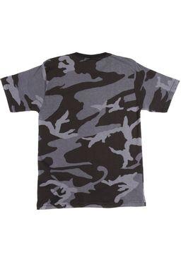 Camiseta-Manga-Curta-Juvenil-Para-Menino---Cinza-laranja