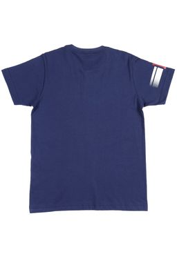 Camiseta-Gangster-Manga-Curta-Juvenil-Para-Menino---Azul