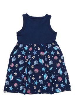 Vestido-Disney-Infantil-Para-Menina---Azul-marinho