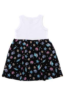 Vestido-Disney-Infantil-Para-Menina---Branco-preto