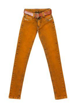 Calca-Jeans-Juvenil-Para-Menina---Caramelo