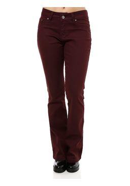 Calca-Jeans-Sarja-Feminina-Bivik-Flare-Roxo