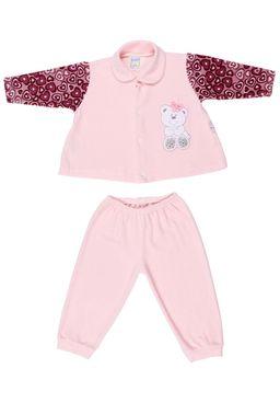 Conjunto-Infantil-Para-Bebe-Menina---Rosa