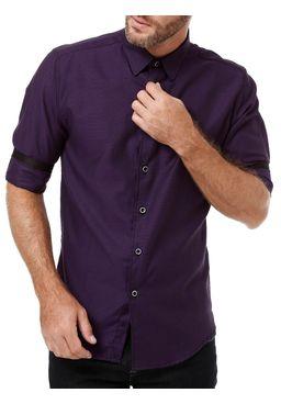Camisas-Manga-3-4-Masculina-Roxo